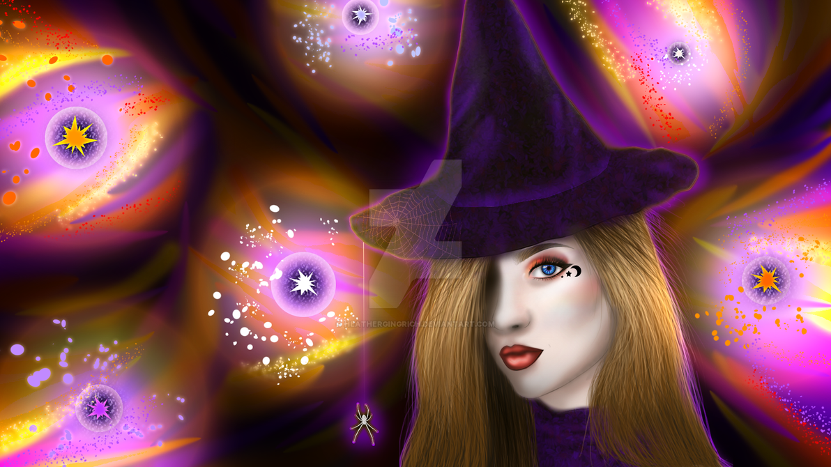 Witch by HeatherGingrich