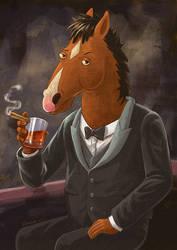BoJack Horseman by spencertoons