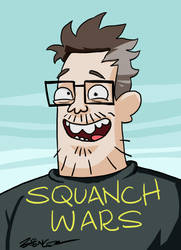 Squanch Wars by spencertoons