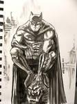 Batman ink sketch