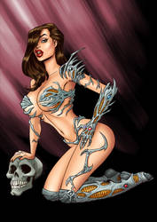 Witchblade by spencertoons
