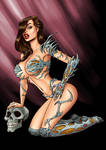 Witchblade by spencertoons