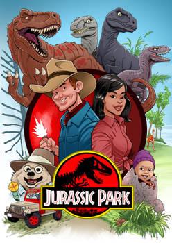 Jurassic Park family