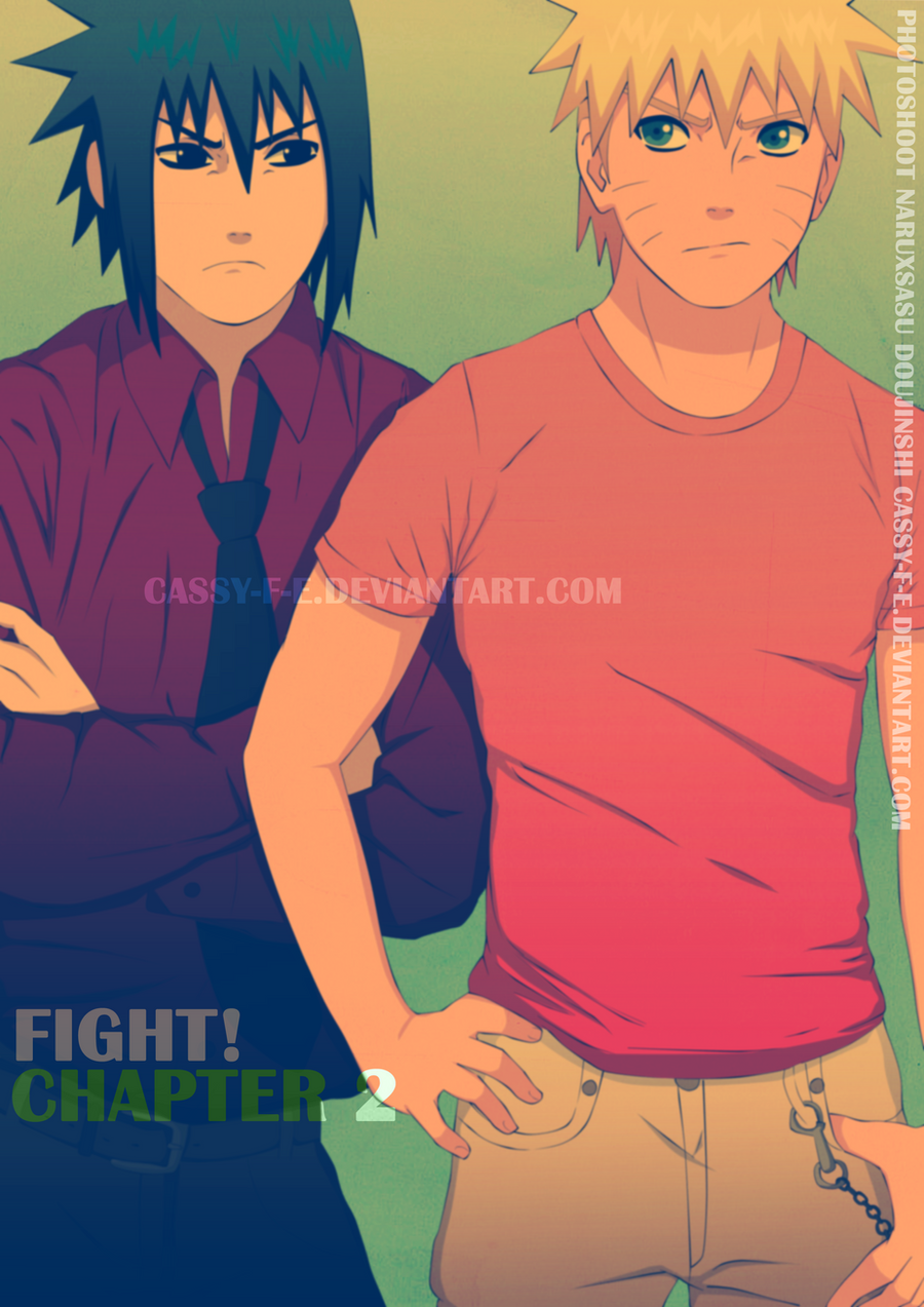 PhotoShoot Doujinshi Ch2 Cover by Cassy-F-E