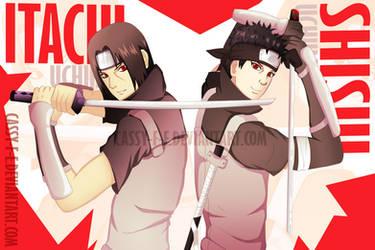 ANBU Itachi and Shisui by Cassy-F-E