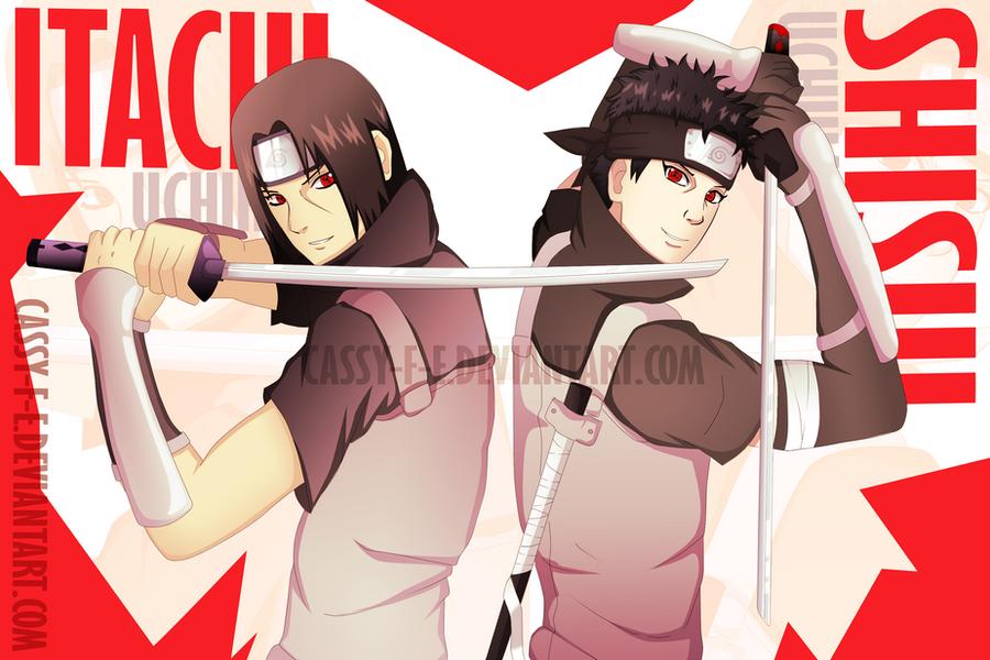 ANBU Itachi and Shisui by Cassy-F-EShisui Uchiha And Itachi
