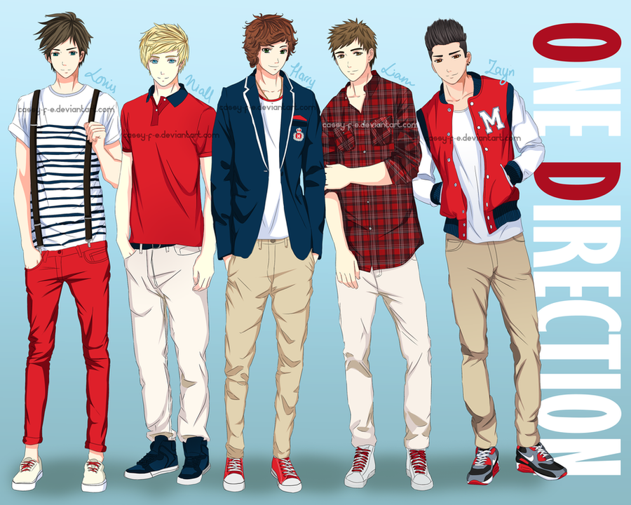 One Direction by Cassy-F-E