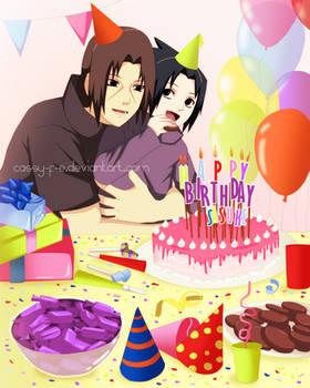 Happy Birthday Sasuke by Cassy-F-E