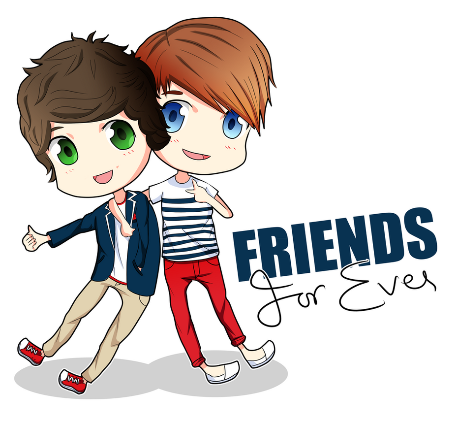 Harry and Louis Friends Forever by Cy-F-E on DeviantArt