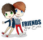 Harry and Louis Friends Forever