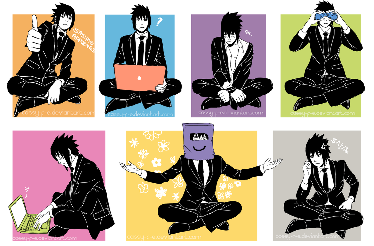 Sasuke's Free Time by Cassy-F-E