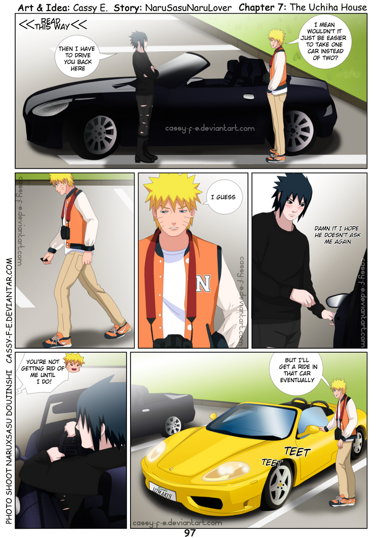 NaruSasu douji Pg 97 PhotoShoot by Cassy-F-E