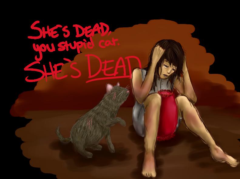 Katniss Fan Arts! Mockingjay__She__s_dead__by_Gigglish