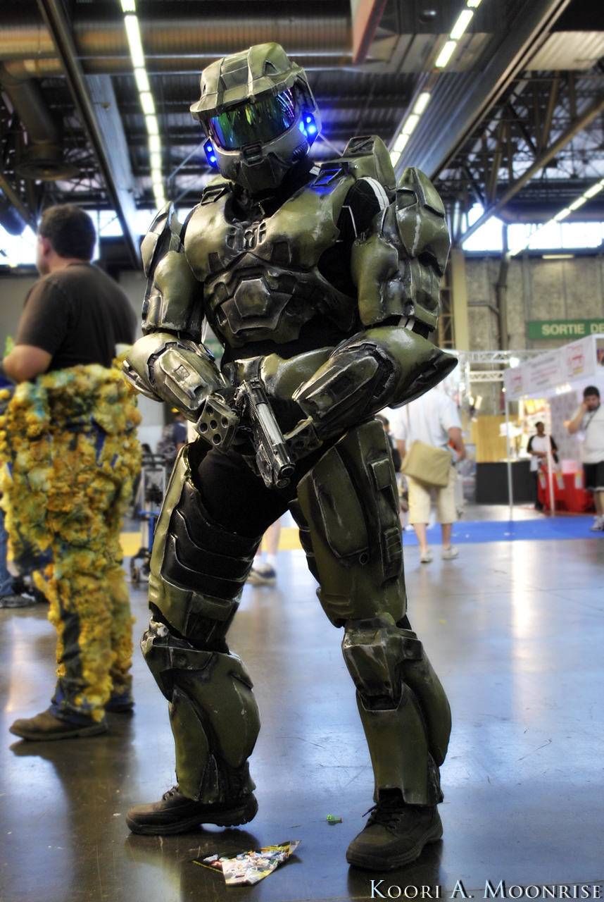 Japan Expo 2010 - Halo Cosplay by Nawamane