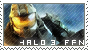 Stamp: Halo 3 Fan by Nawamane