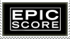 Stamp: Epic Score Fan by Nawamane