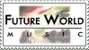 Stamp: Future World Music Fan by Nawamane