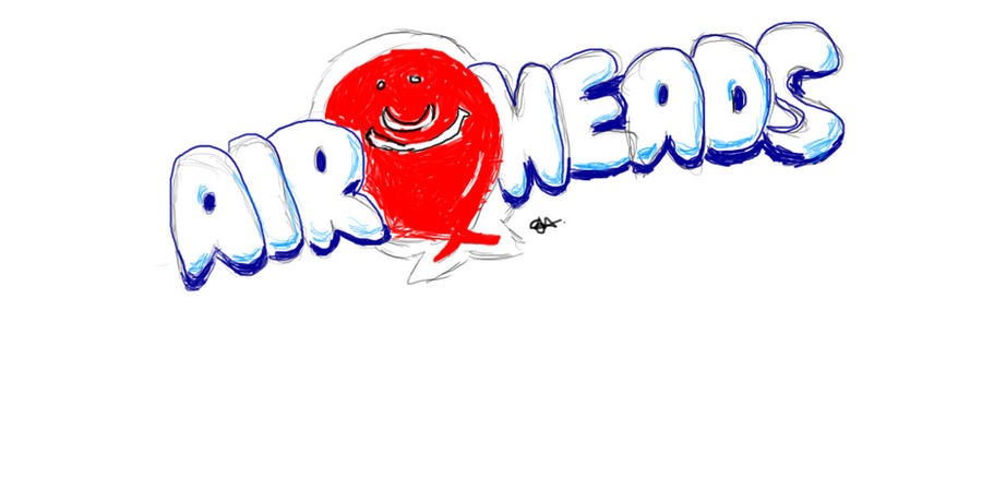 Airheads Candy Logo by uxazme on DeviantArt
