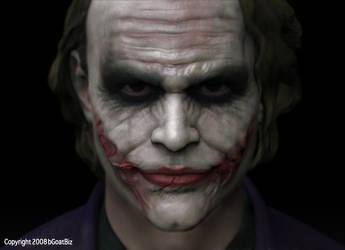 The Dark Knight Joker by BGOATBiz