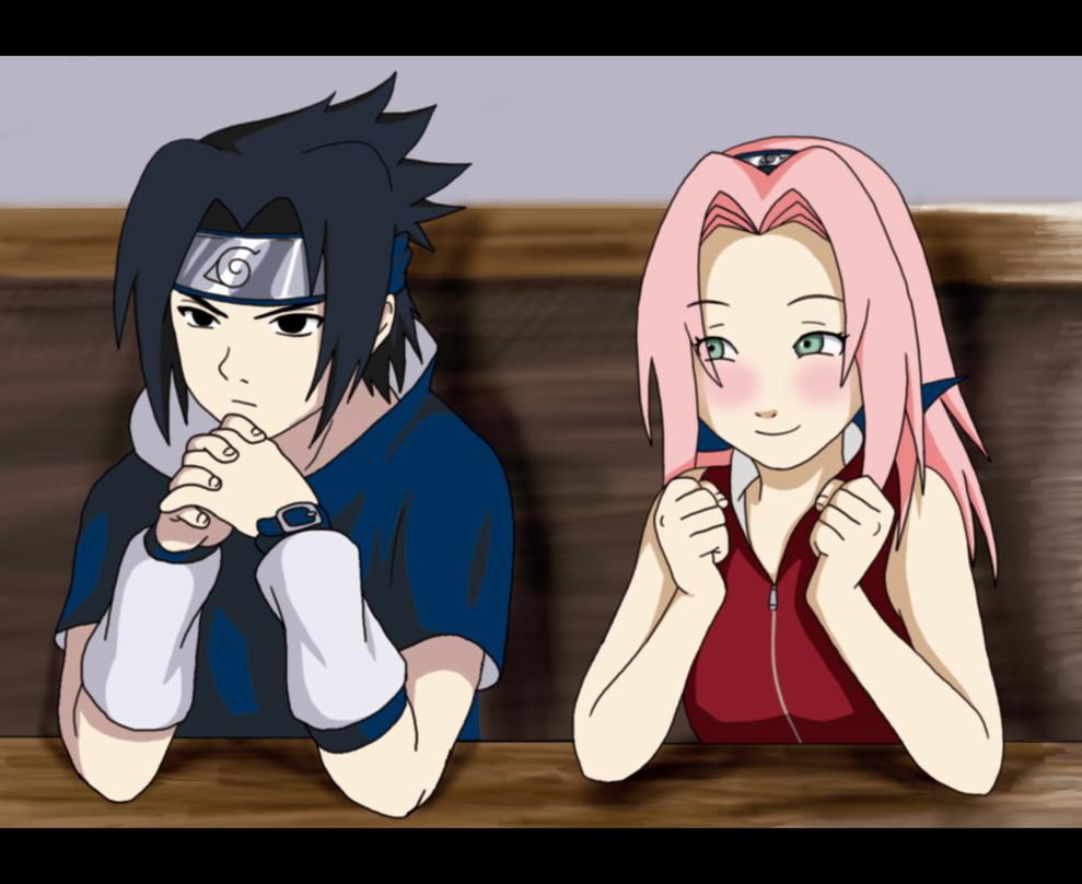Sasuke a Sakura