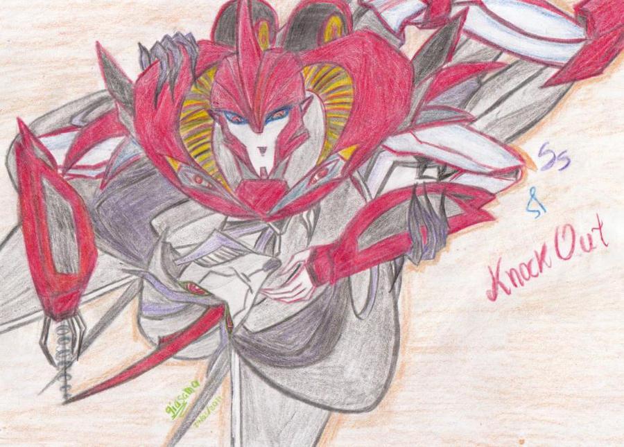 Knockout X Starscream By Djmoonray Deviantart – Migliori Pagine da