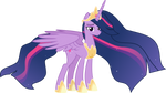 Future Princess Twilight|MLP Vector (UPDATED)