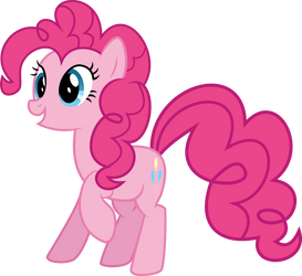 Pinkie Pie|MLP Vector #3