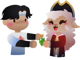 Puffy And Sapnap vector