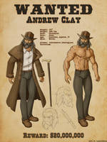 Anatomy of Andrew Clay by Gurlow