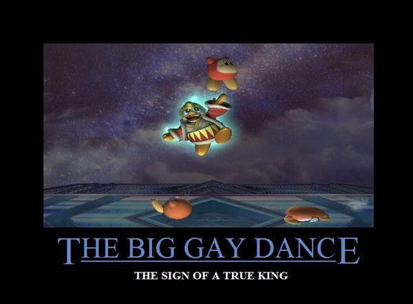 Dedede Big Gay Dance 109