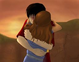 Zutara - Embrace by Aranehl