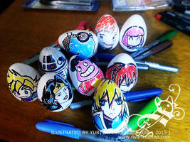 Easter Eggs by Zaph-chan