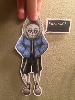 Sans paper child by Artsy-Ailurophile