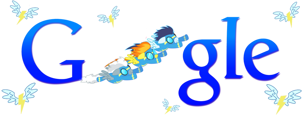 Wonderbolt Google Logo (Install Guide!) by Owl-Parchment