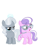 Diamond Tiara and Silver Spoon - Color Swap