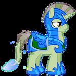 Fishy-tail Royal Guard (Night Unicorn)