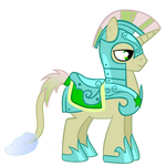 Fishy-tail Pony Royal Guard (Unicorn)
