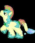 Fishy-tail Pony Royal Guard (Pegasi)