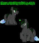 Pleumon the Fishy-tail Pony Adopt (Sold!)