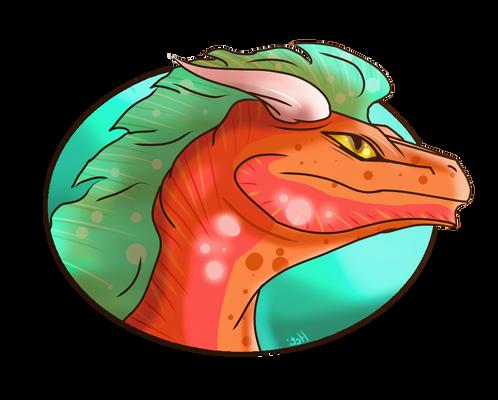 Dragon badge #2