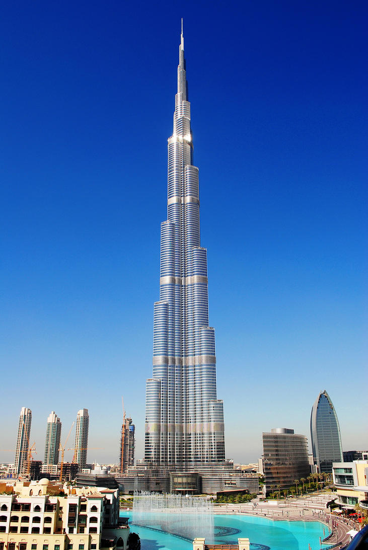 Tallest Building in the World by alkhanjariUae Tallest Building In The World