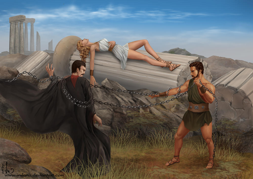 Hercules Vs Manos by Irulana on DeviantArt