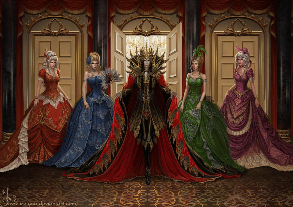 Dark Lord In The Ballroom By Irulana On Deviantart