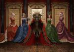 Dark lord in the ballroom. by Irulana