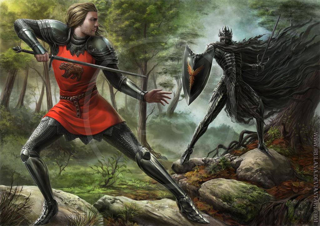 Battle by Irulana