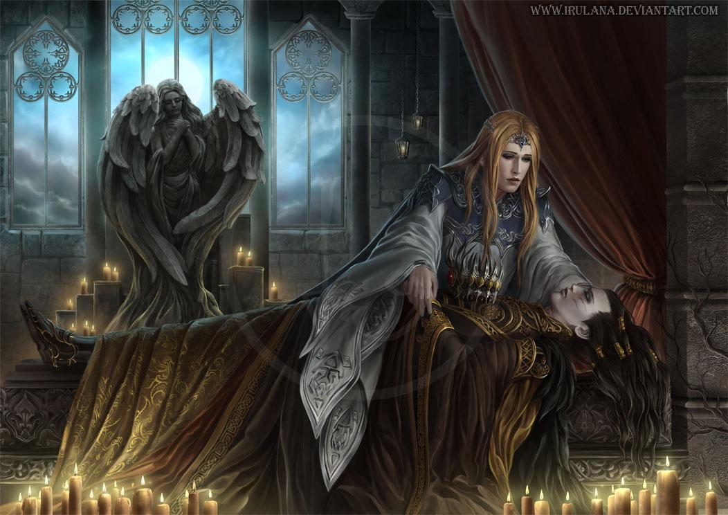 Mourning by Irulana