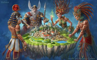 Atlantis Cover Art by Irulana