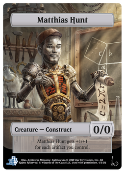 MTG Token - Construct