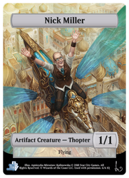 MTG Commission: Thopter by Irulana