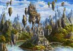 The Floating Isles by Irulana